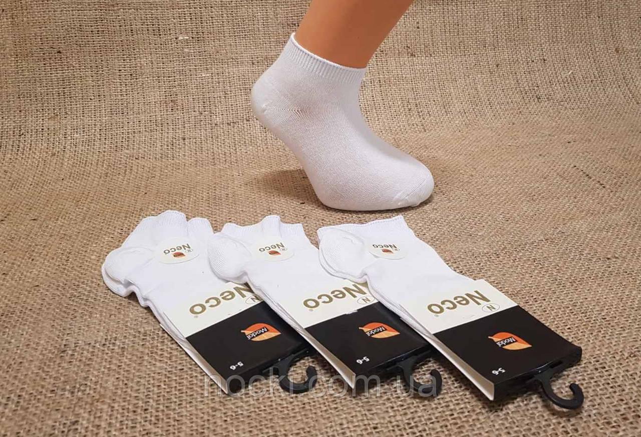 Дитячі шкарпетки короткі з модала НЕЖО 5-6 білий