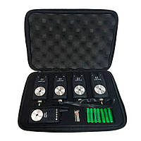 Набор сигнализаторов поклевки с пейджером 4+1 в кейсе Sams Fish SF23799 (010006)