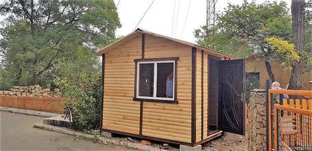 Дом охраны деревянный, домики для охраны