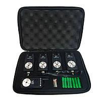 Набор сигнализаторов поклевки с пейджером 4 + 1 Sams Fish SF23799, в кейсе