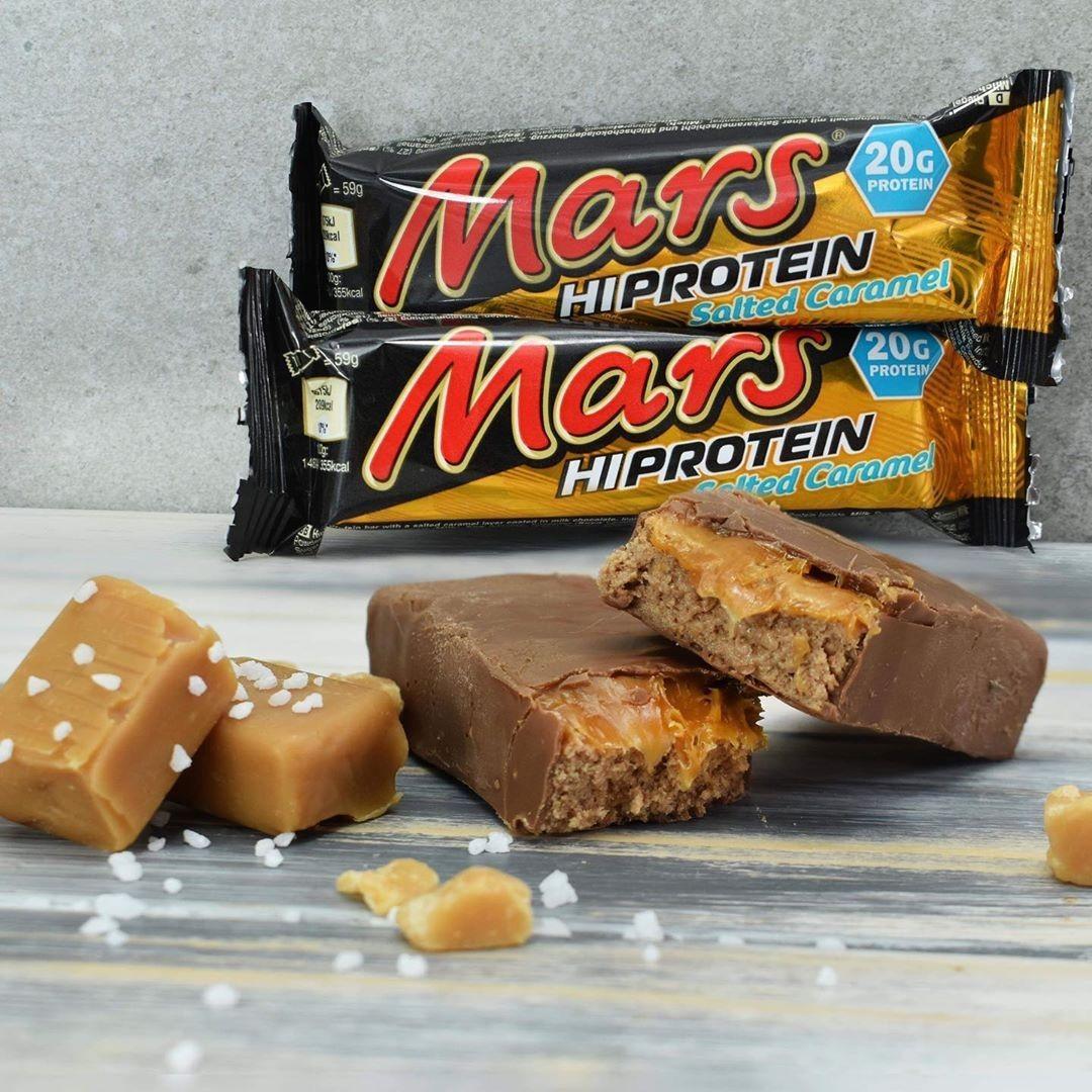 Протеїновий батончик Mars hi protein Salted Caramel 59 г