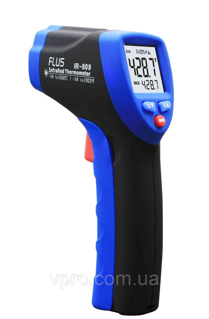 Пірометр Flus IR-809 (-50-1050 ℃) EMS 0,1-1,0; DS: 30:1