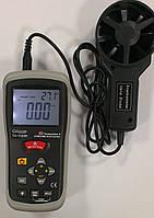 Анемометр Exotek TH-1100IR (0,3-30 m/s; 0,01 m/s) (0-999,9 м2; 0,1 м2) (-50...+260 °C) Германия, фото 1