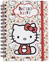 Блокнот на спирали Hello Kitty,А6