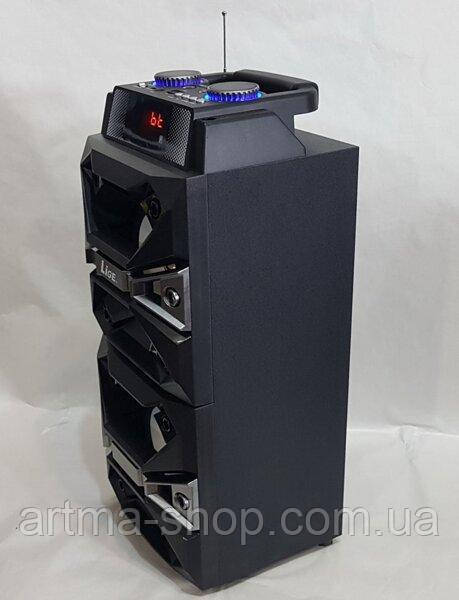 Портативна акустична система LIGE AL-3592-DT комбік-колонка акумуляторна