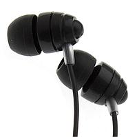 Вакуумные проводные наушники с микрофоном Joyroom JR-EL112 черного цвета шумоподавляемые .