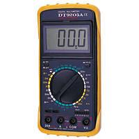Цифровой мультиметр  Condevo DT9205A (DCV 1000В, ACV 750В,DCA 20A, ACA 20A, 2ГОм, 200мкФ)