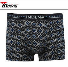 Трусы мужские боксеры стрейчевые х/б Indena underwear 85118,(в упаковке разные размеры) хлопок, 30030550