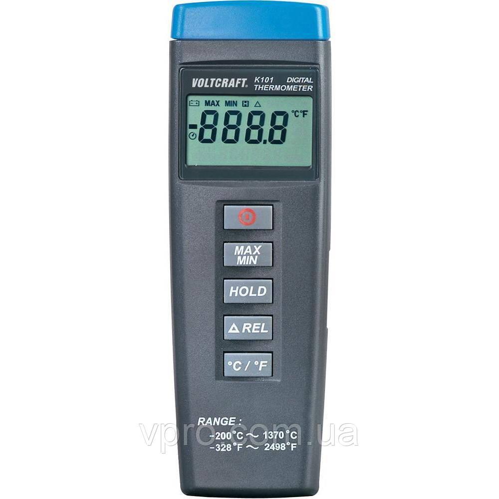 Термометр Voltcraft K101 (-200...+1370 °C) термопари: K / J. Німеччина