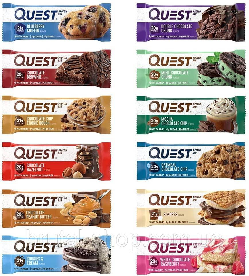Батончик Quest Bar 60g (Quest Nutrition USA)