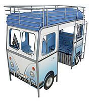 """Кровать подростковая  """"Автобус"""" HelloHome от Worlds Apart"""