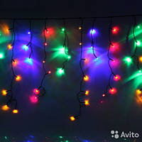 Гирлянда Штора бахрома 2,5х0,7м - 120 LED