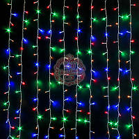 Гирлянда Занавес бахрома 1,5х1,2м - 144 LED