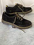 Чорні туфлі з натуральної замші, фото 2