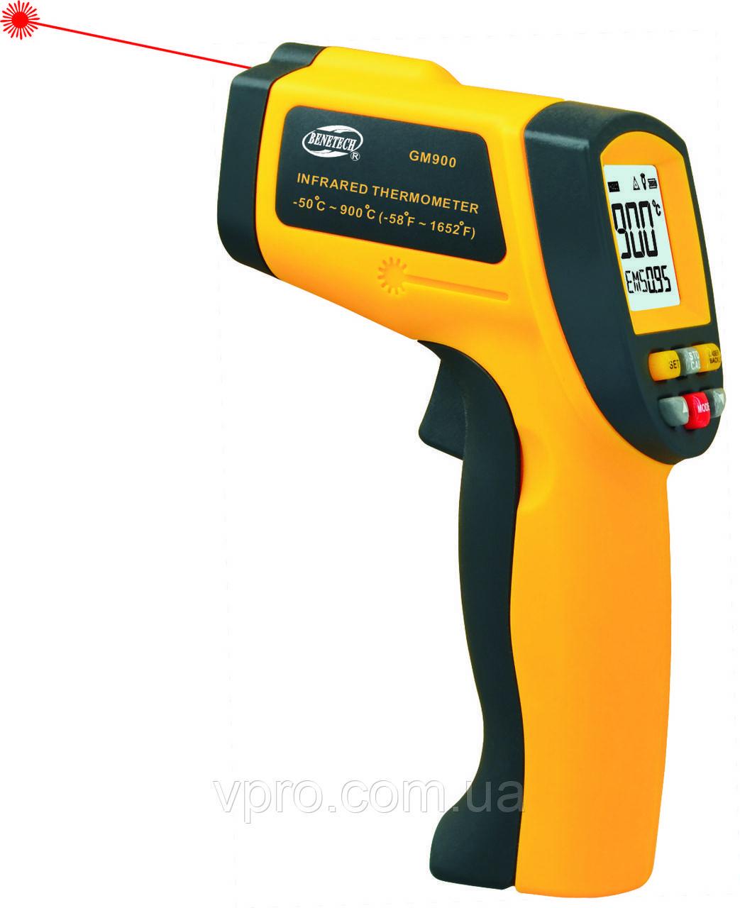 Пірометр Benetech GM900 (SRG 900) -50~950℃ ( 12:1 ) у Кейсі! Ціна з ПДВ +20%