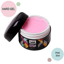 Kira Nails Hard Gel, Pink 30 г