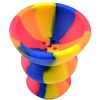 Чаша для кальяна силикон (средняя), комплектующие для кальянов, трубки,шланги , колбы кальянные, мундштуки,чаш