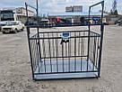 Весы для взвешивания животных VTP-G-1220 1250×2000 мм с оградкой 1500 мм, фото 2