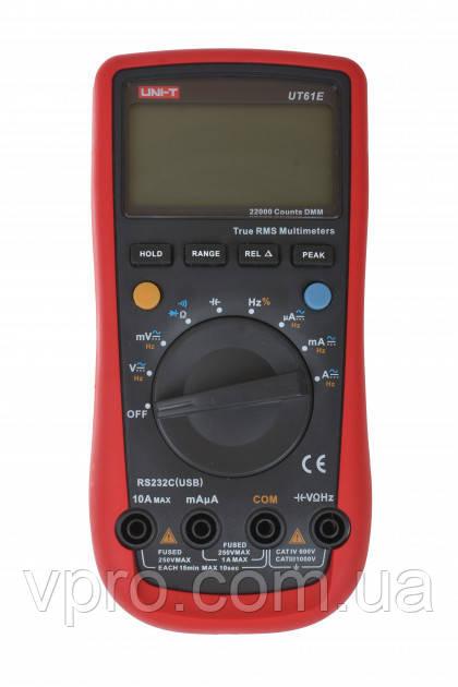 Цифровой мультиметр UNI-T UT61E (UTM 161E)