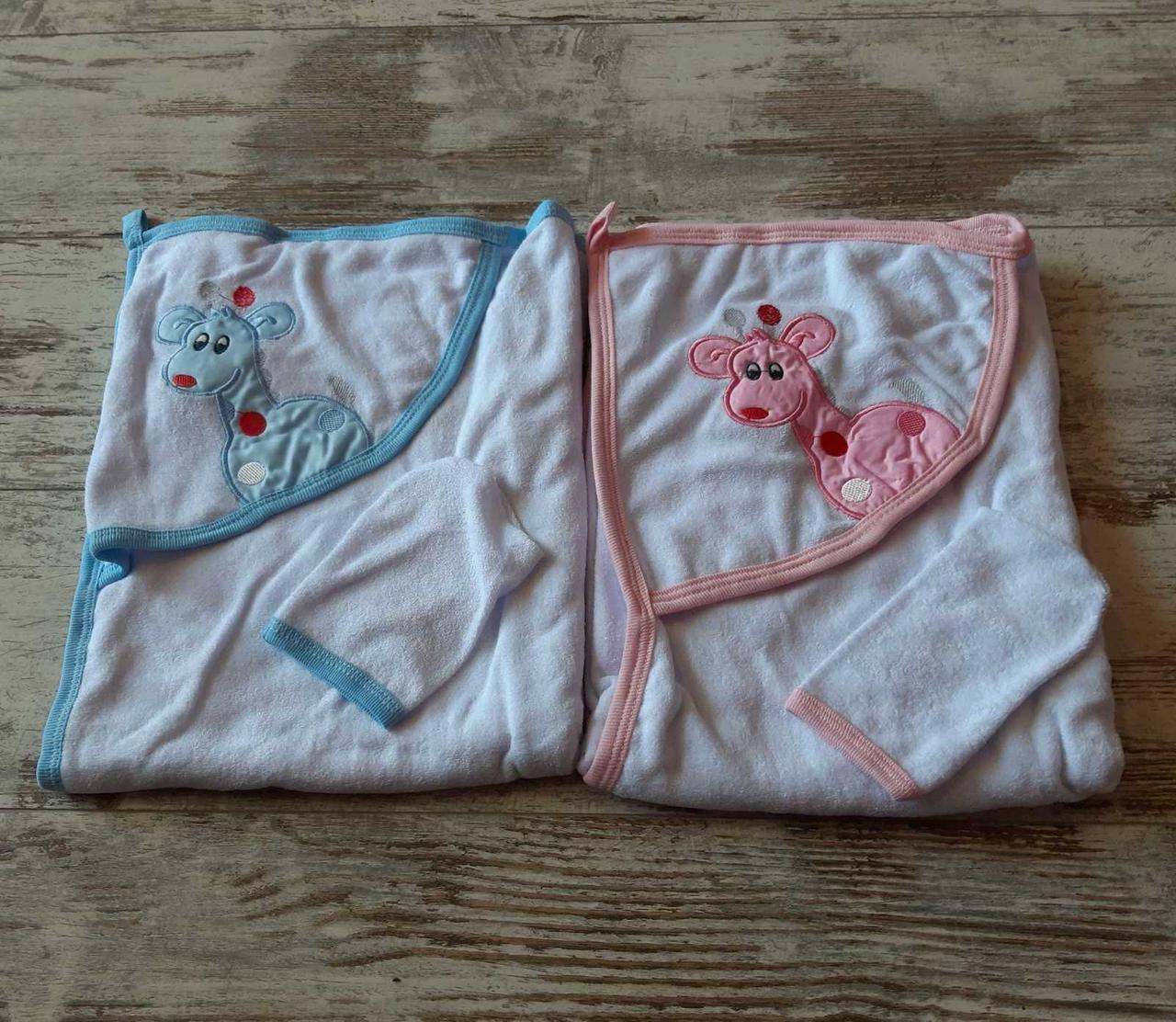 Полотенце для новорожденных Турция оптом
