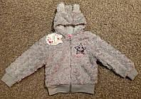 Меховая кофта для девочки 1-5 лет