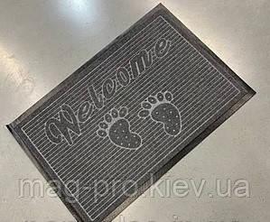 Решіток килимок Караван (Karavan) 60х90 Сірий