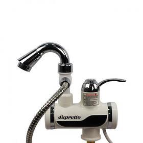 Кран - водонагреватель проточный электрический с насадкой для душа