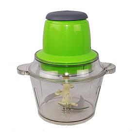 Блендер - измельчитель Food Grinder (Молния) с двухъярусным лезвием, чашей 1.8 л