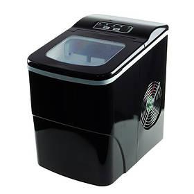 Портативний генератор льоду, побутовий компактний льодогенератор, Чорний