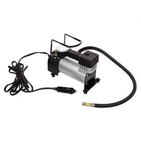 Автомобільний повітряний компресор від прикуривателя, автокомпресор, насос для підкачування шин автомобіля