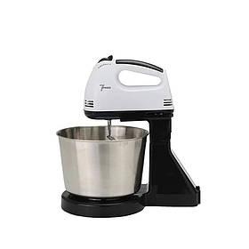 Миксер стационарный кухонный с чашей 2 л для приготовления теста и кремов