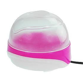 Яйцеварка - пароварка електрична на 6 яєць, Рожевий