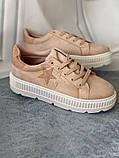 Кроссовки, криперы Спортивные туфли розовые на платформе, фото 10