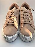 Кроссовки, криперы Спортивные туфли розовые на платформе, фото 9