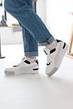 Женские кроссовки Puma Cali Mix Пума Кали Микс белые с черным, фото 5