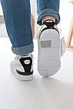 Женские кроссовки Puma Cali Mix Пума Кали Микс белые с черным, фото 7