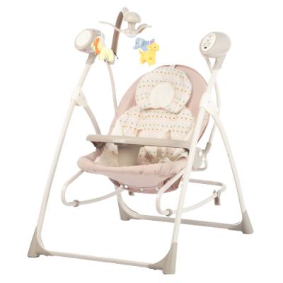 Крісло-гойдалка Carrello Nanny 3 в 1 CRL-0005 Beige Dot