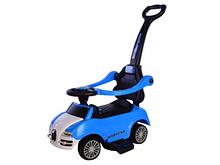 Толокар T-931 Blue з муз. 794390 /1/ (синій) з батьківською ручкою