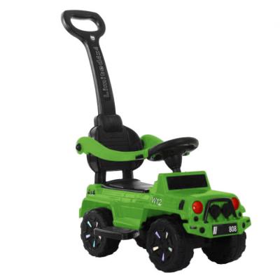 Толокар T-934 Green з музикою 853583 /1/ ( Зелений) зі знімною батьківською ручкою