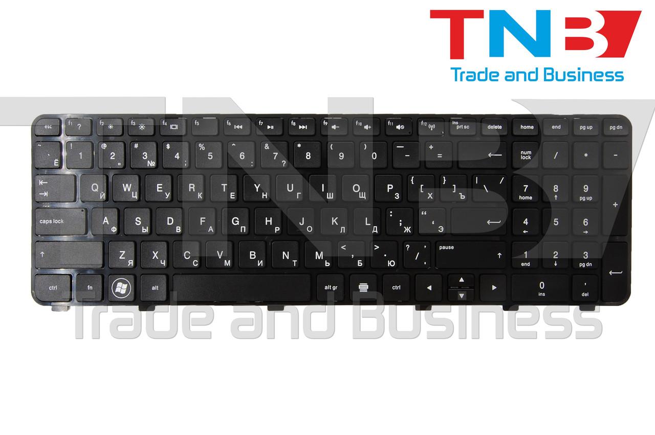 Клавіатура HP DV6 -6110 -6186 -6C47 чорна