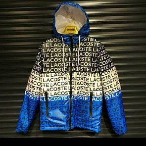 Мужская куртка ветровка  Lacoste