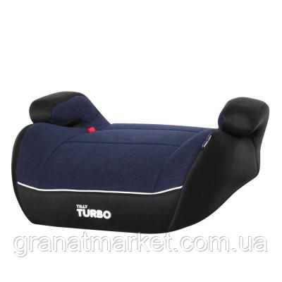 Автокресло-бустер Tilly Turbo T-541/2 Черно-синий