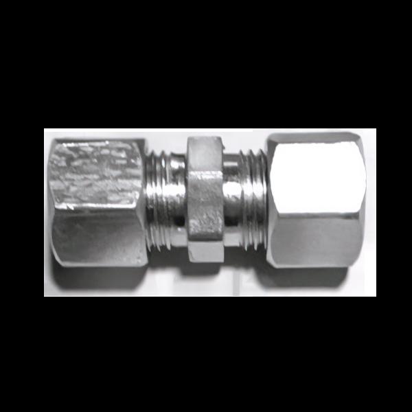 Соединитель L-159 без развальцовки (рем.комплект) для трубок 15 мм