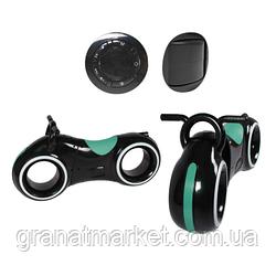 Беговел Tilly GS-0020 Black/Green Bluetooth, LED-підсвічування