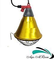 Защитный плафон для инфракрасной лампы, с переключателем