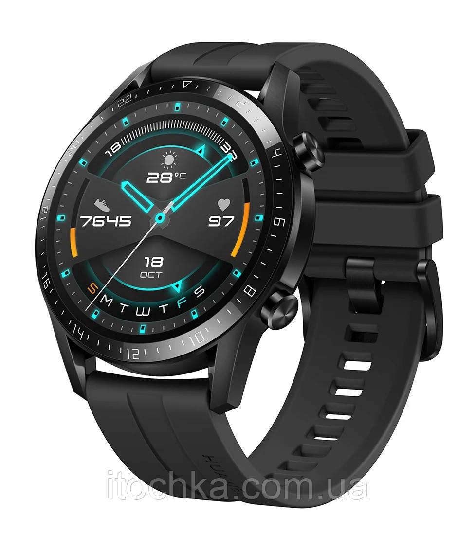 Huawei Умные часы Huawei Watch GT 2 Sport 46mm (LTN-B19) Matte Black  (Без упаковки)