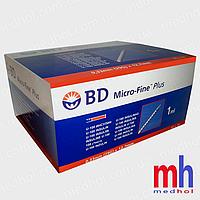 Шприц bd micro fine plus 1 мл (29G) x12,7 мм (США)