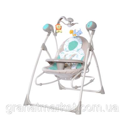 Крісло-гойдалка Carrello Nanny 3 в 1 CRL-0005 Azure Beige