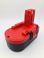 Аккумулятор для электроинструмента Bosch BAT025/BAT026/BAT160/BAT180/BAT181, (Ni-Mh 18V 3.0Ah)