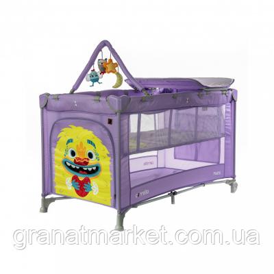 Манеж Carrello Molto CRL-11604 Orchid Purple